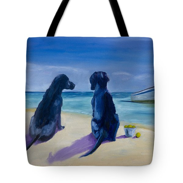 Beach Girls Tote Bag by Roger Wedegis