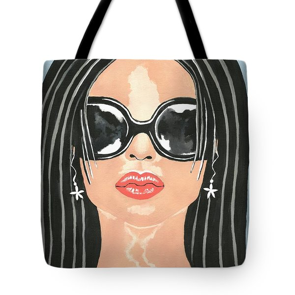 Beach Glam Tote Bag