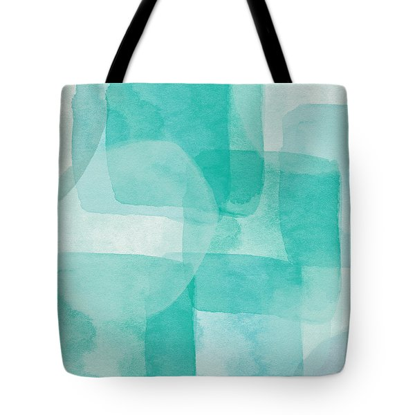 Beach Glass- Abstract Art By Linda Woods Tote Bag