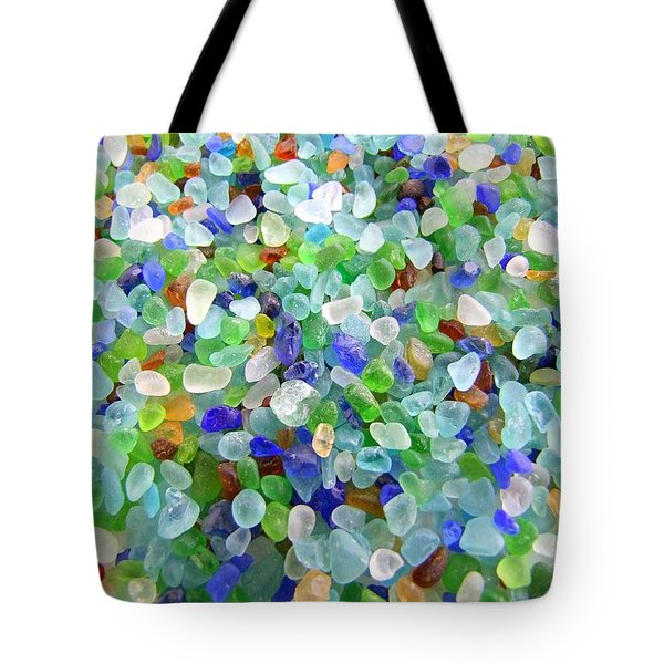 Beach Glass Tote Bag