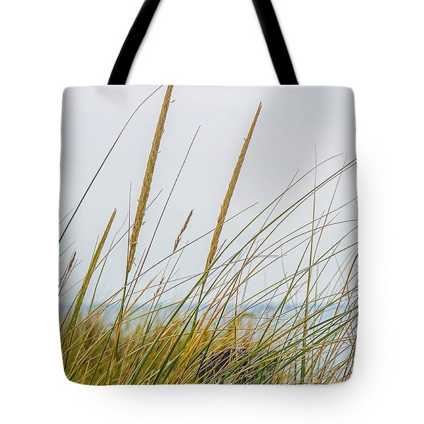 Tote Bag featuring the photograph Beach Grass by Kendall McKernon