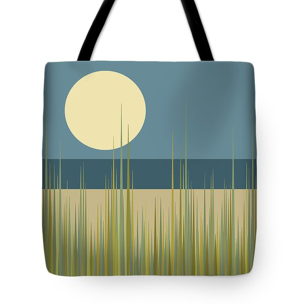 Beach Grass Tote Bag by Val Arie