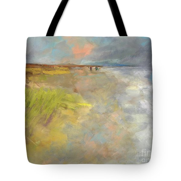 Beach Grasses Tote Bag by Frances Marino