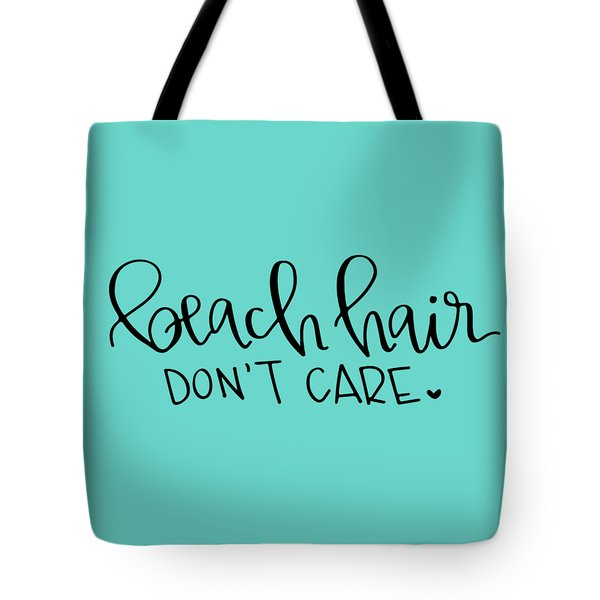 Beach Hair Tote Bag by Elizabeth Taylor