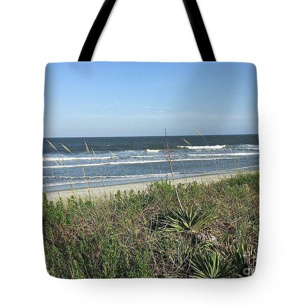 Beach Here I Come Tote Bag