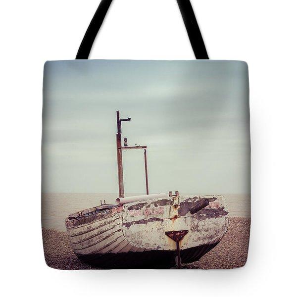 Beach Home Tote Bag by David Warrington