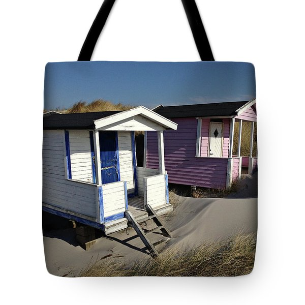 Beach Houses At Skanor Tote Bag