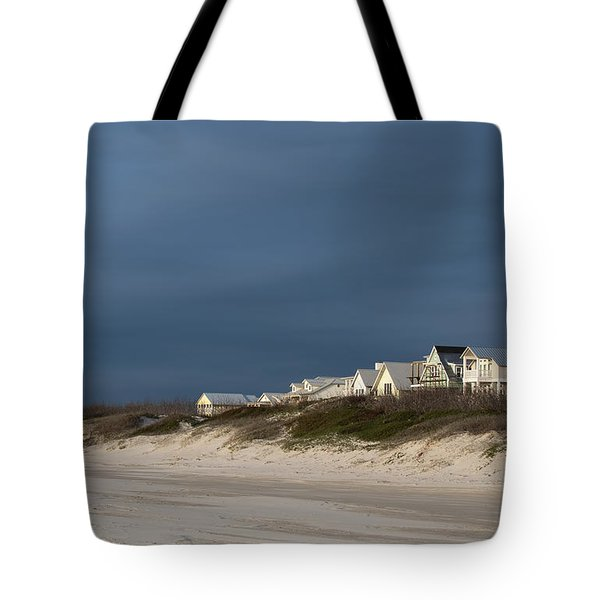 Beach Houses Tote Bag