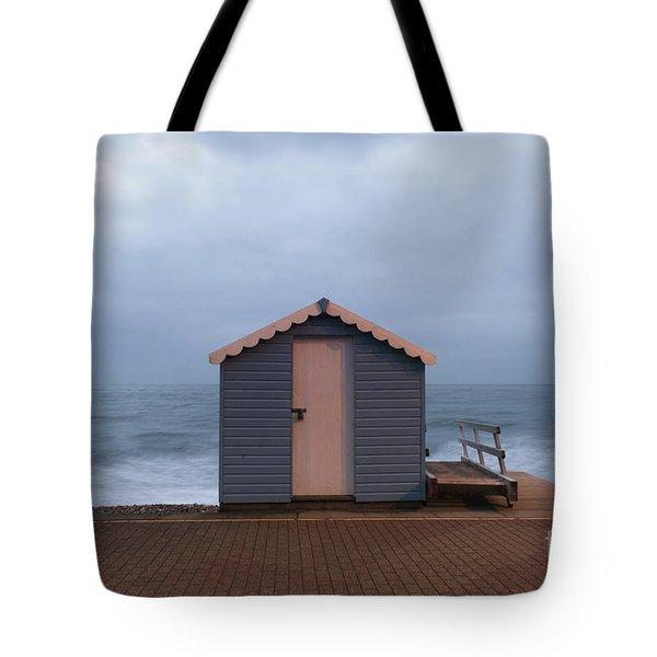 Beach Hut Tote Bag