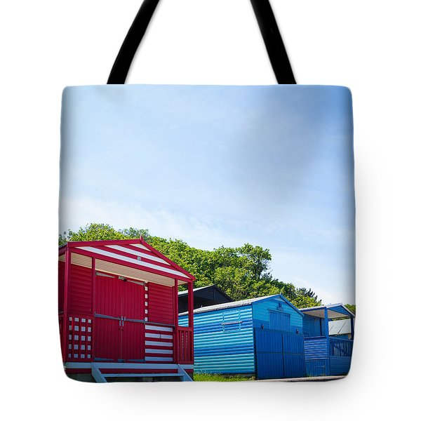 Beach Huts 1 Tote Bag