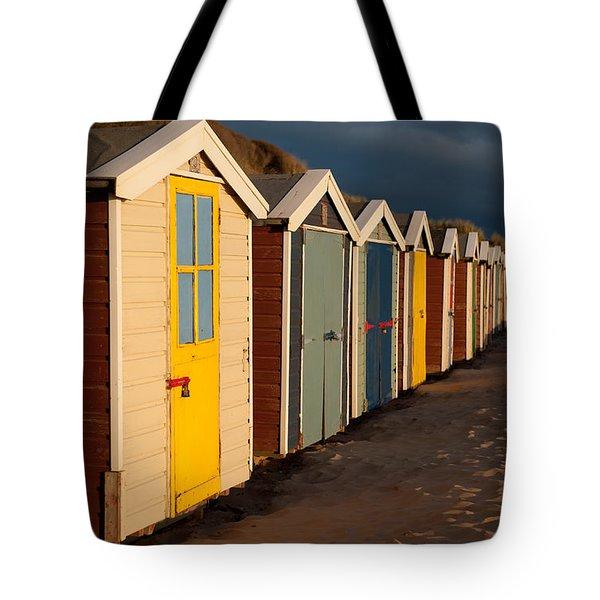Beach Huts II Tote Bag