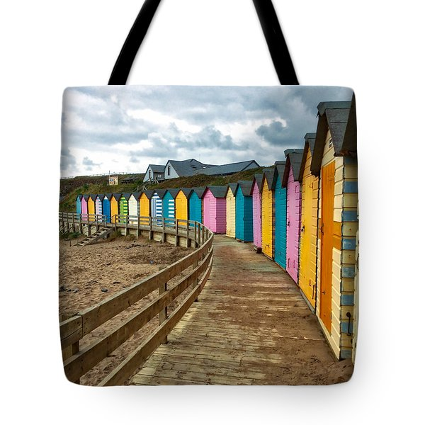 Beach Huts Tote Bag