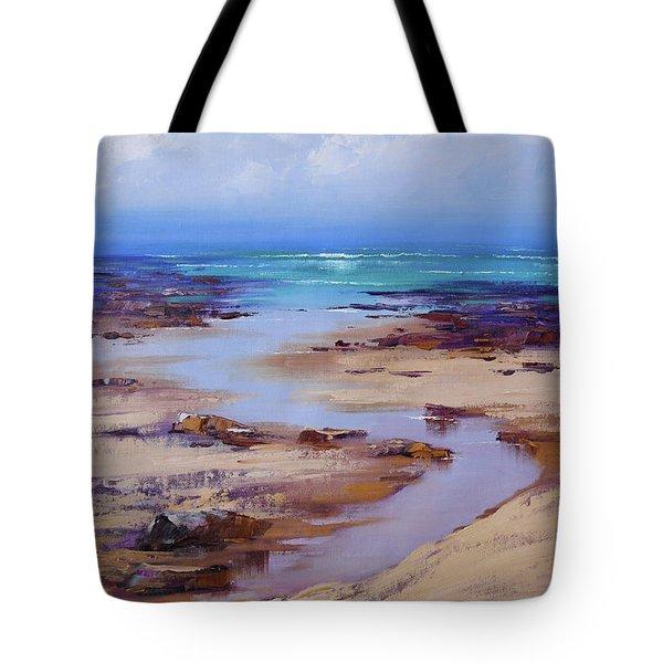 Beach Inlet Tote Bag