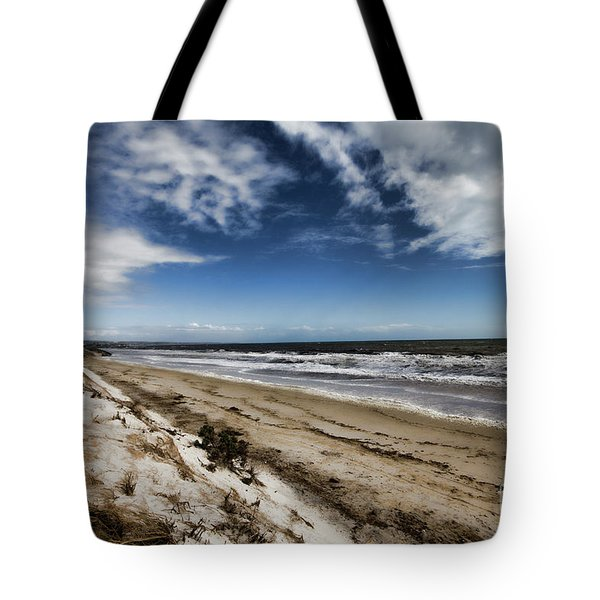 Tote Bag featuring the photograph Beach Life by Douglas Barnard