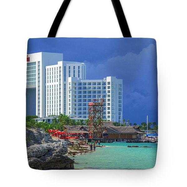 Beach Life In Cancun Tote Bag
