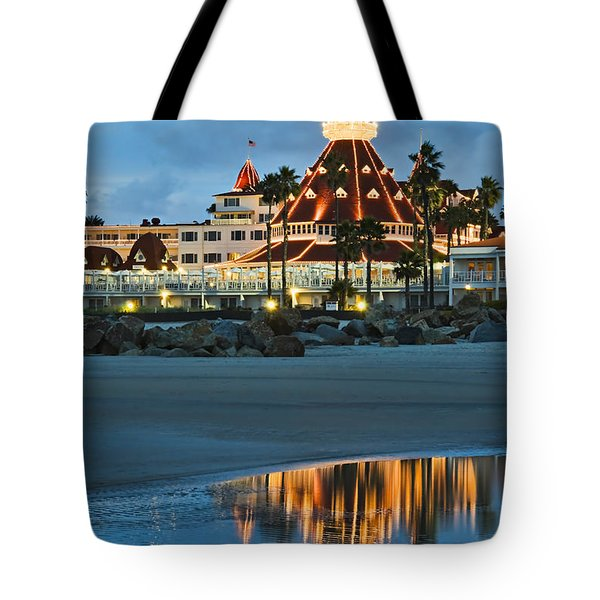 Beach Lights Tote Bag