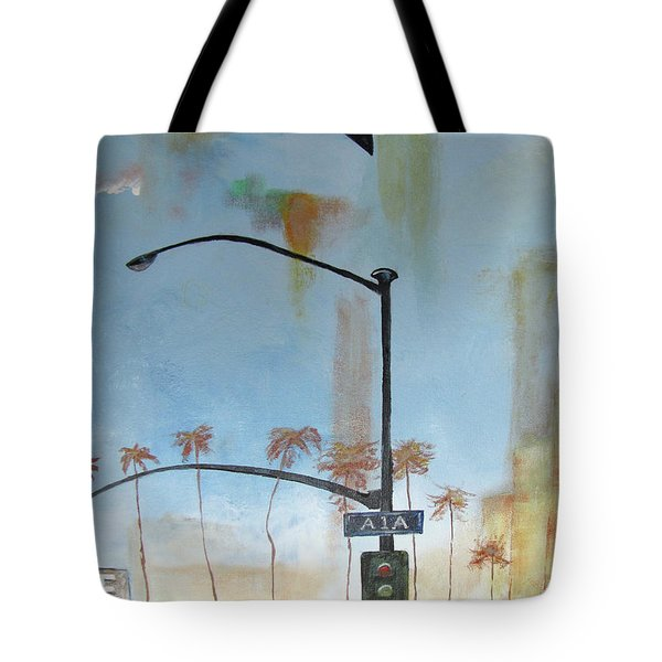 Beach Lights Tote Bag