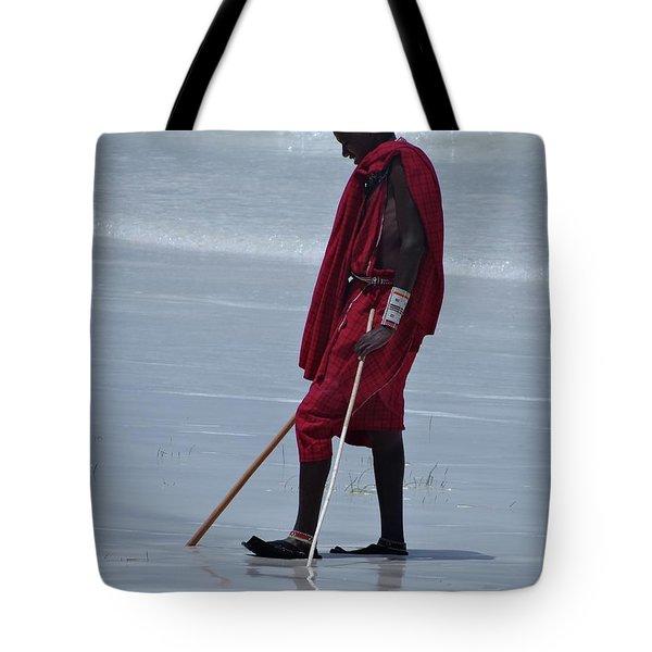 Beach Maasai Tote Bag