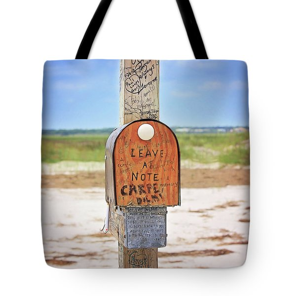 Beach Mail Tote Bag