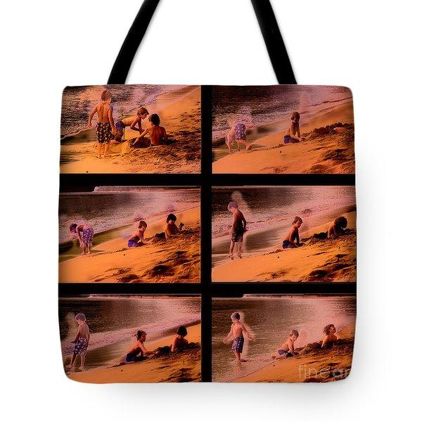 Beach Memories Tote Bag by Madeline Ellis