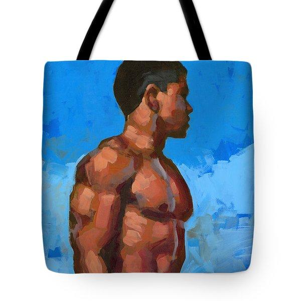 Beach Mike 2 Tote Bag