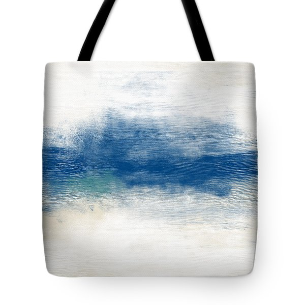 Beach Mood- Abstract Art By Linda Woods Tote Bag
