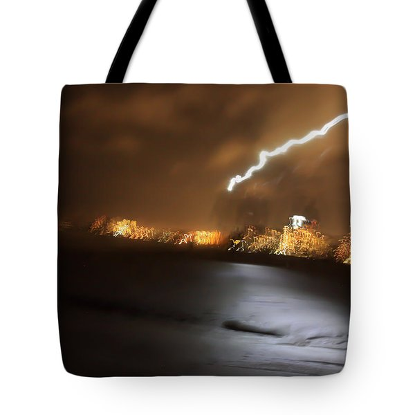 Beach Night 4 Tote Bag