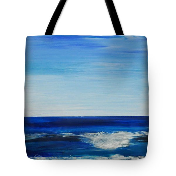 Beach Ocean Sky Tote Bag