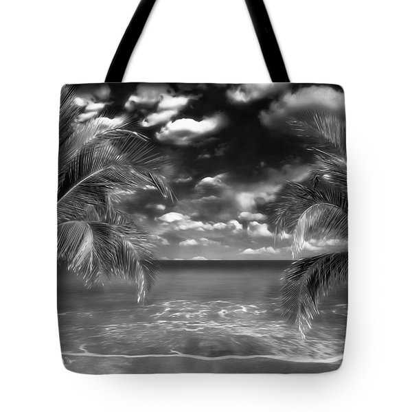 Beach Of Forgotten Colours Tote Bag