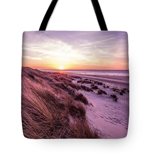 Beach Of Renesse Tote Bag