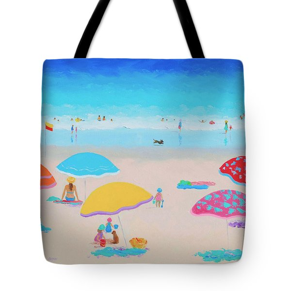 Beach Painting - Ah Summer Days Tote Bag