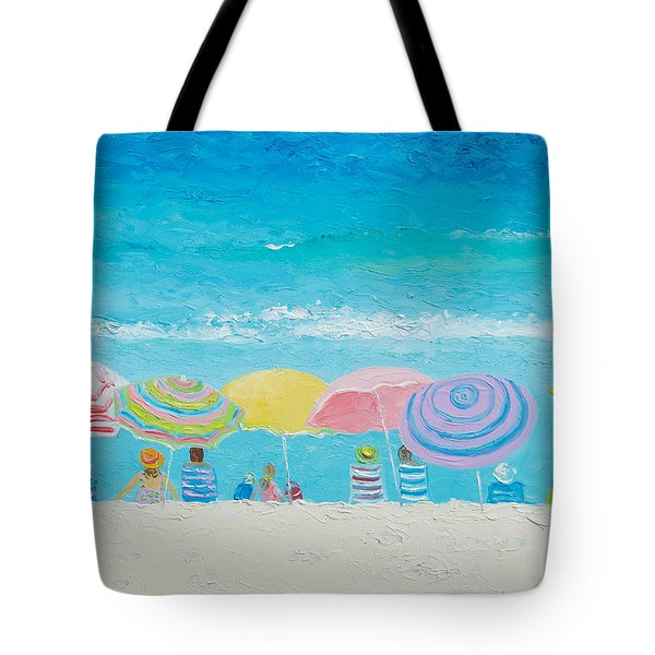 Beach Painting - Color Of Summer Tote Bag