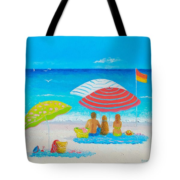 Beach Painting - Endless Summer Days Tote Bag