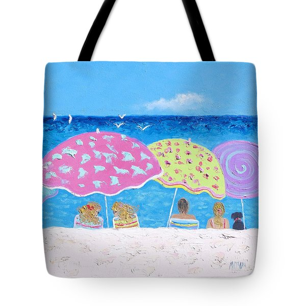 Beach Painting - Lazy Summer Days Tote Bag