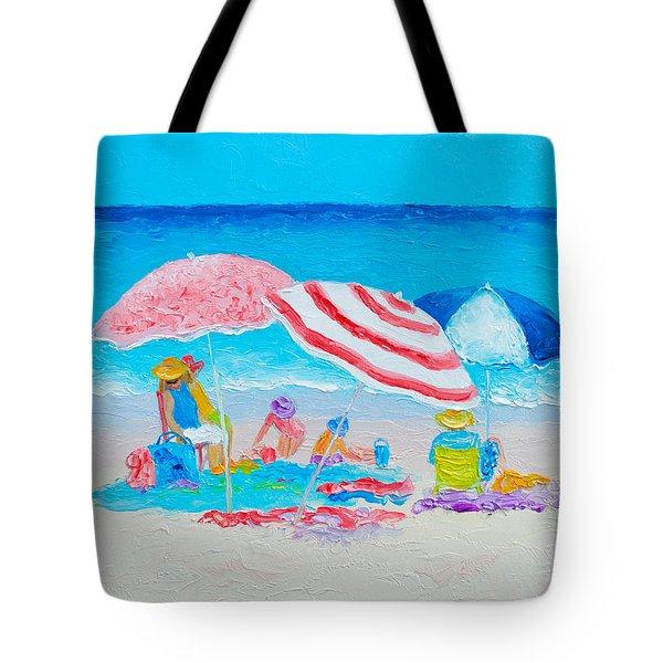 Beach Painting - Summer Beach Vacation Tote Bag