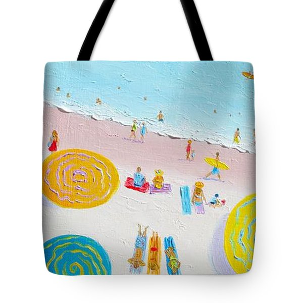 Beach Painting - The Simple Life Tote Bag