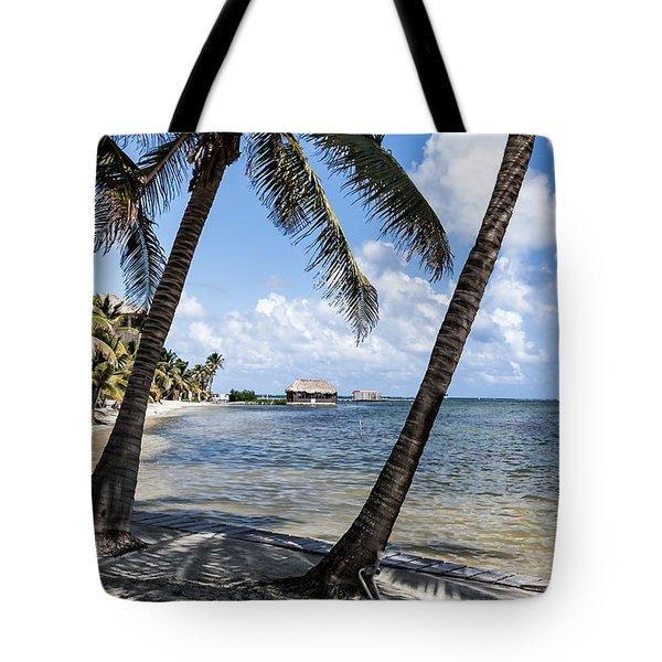 Beach Paradise Tote Bag