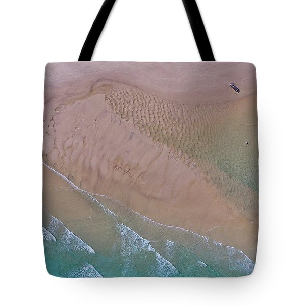 Beach Patterns At North Point On Moreton Island Tote Bag