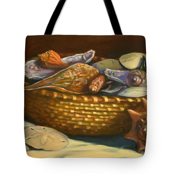 Beach Peace Tote Bag by Dorothy Allston Rogers
