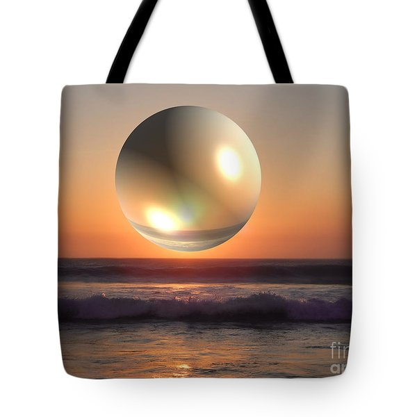 Beach Planet Series Iv Tote Bag