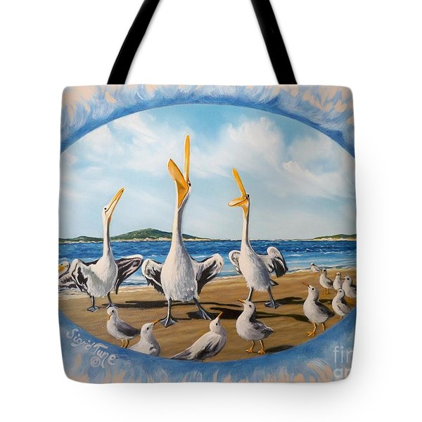 Beach Platoon Tote Bag