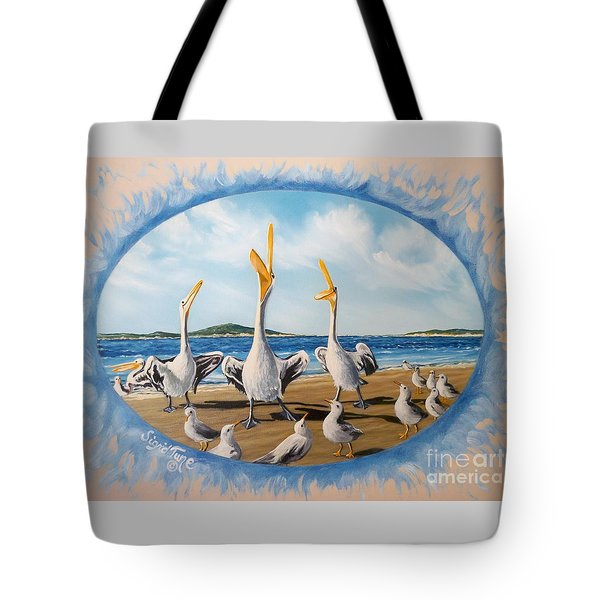 Privileged. Pelican  Procedure Prevailed   Tote Bag