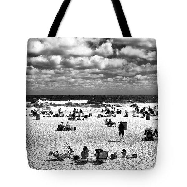 Beach Real Estate Mono Tote Bag by John Rizzuto