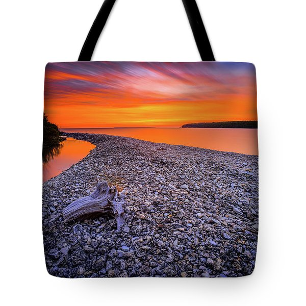 Beach Road Tote Bag