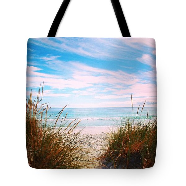 Beach Romance Tote Bag