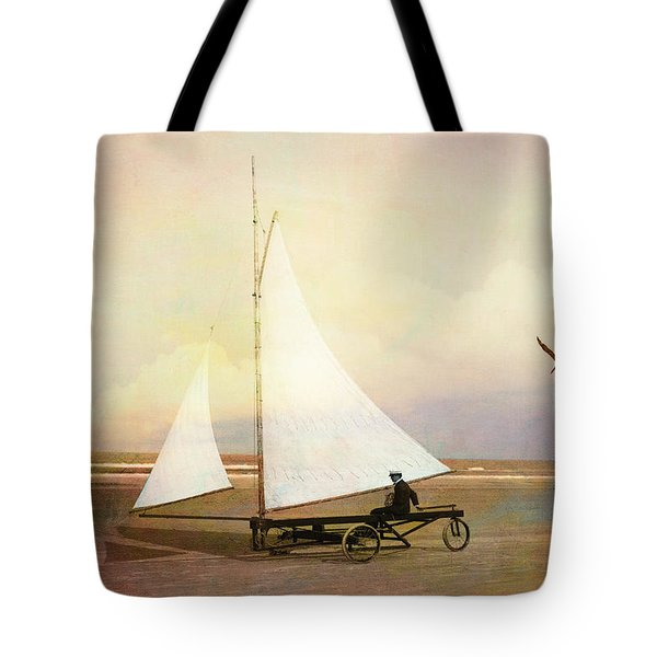 Beach Sailing Tote Bag