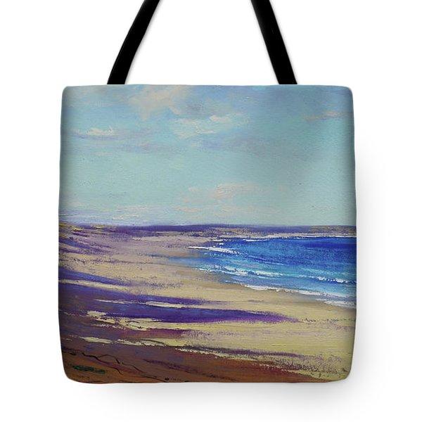 Beach Sand Shadows Tote Bag