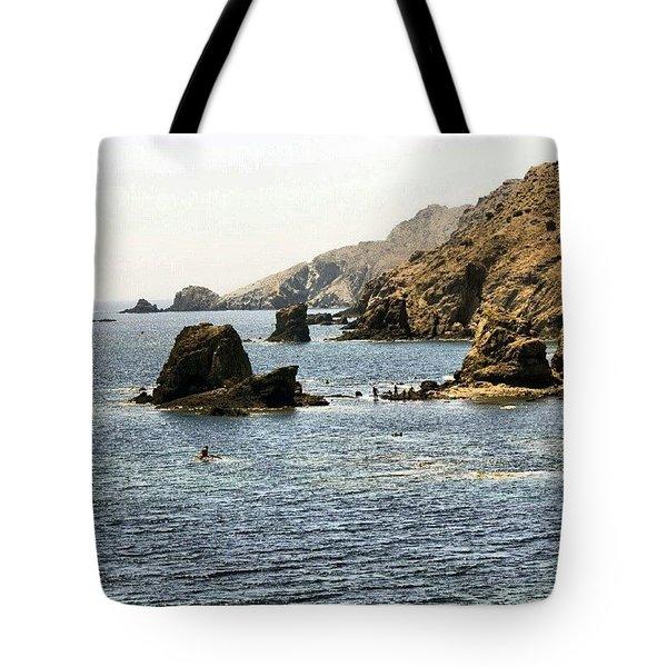 Cabo De Gata Almeria Tote Bag