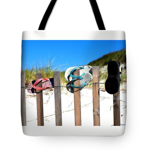 Beach Sandels  Tote Bag