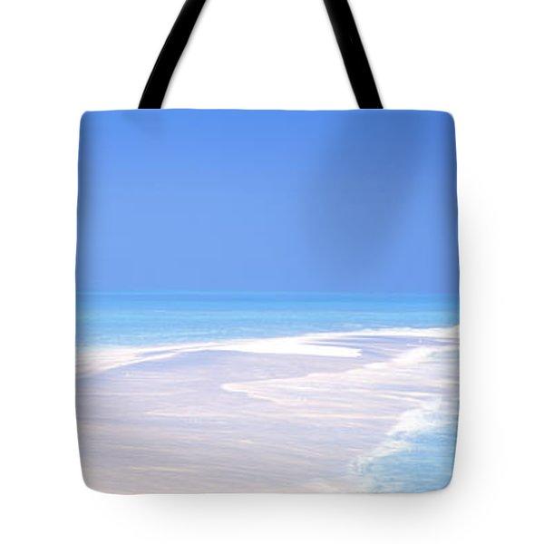 Beach Scenic The Maldives Tote Bag